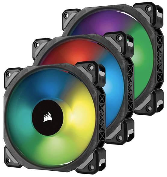 Тихий компьютерный вентилятор Corsair ML Series RGB