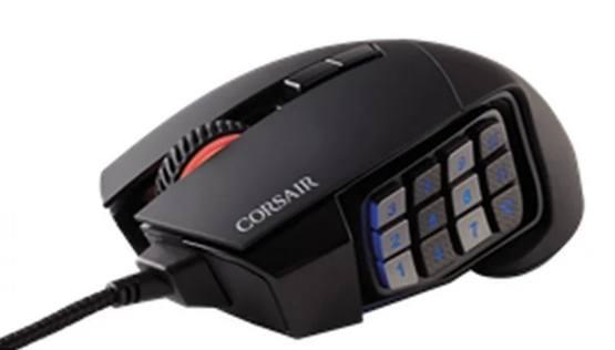 Corsair Scimitar Pro – лучшая компьютерная мышь для игр MMO