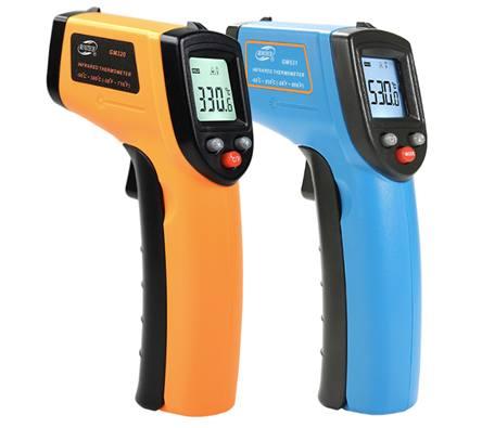 Цифровой лазерный термометр