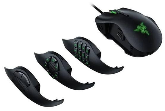 Razer Naga Trinity – многоликая игровая мышь