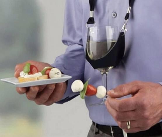 Держатель для бокала с вином
