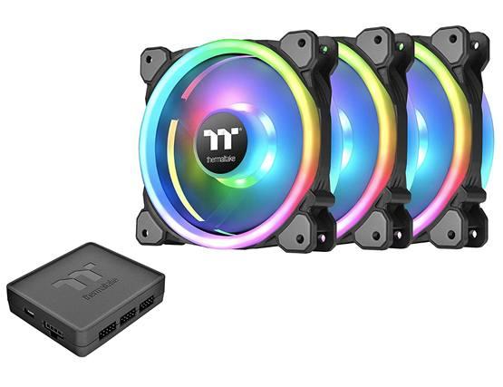 Thermaltake Riing – лучший вентилятор с RGB подсветкой
