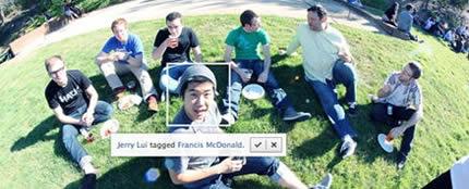 Функция подтверждения меток на Facebook