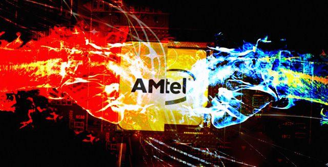 Глобальное противостояние AMD против Intel