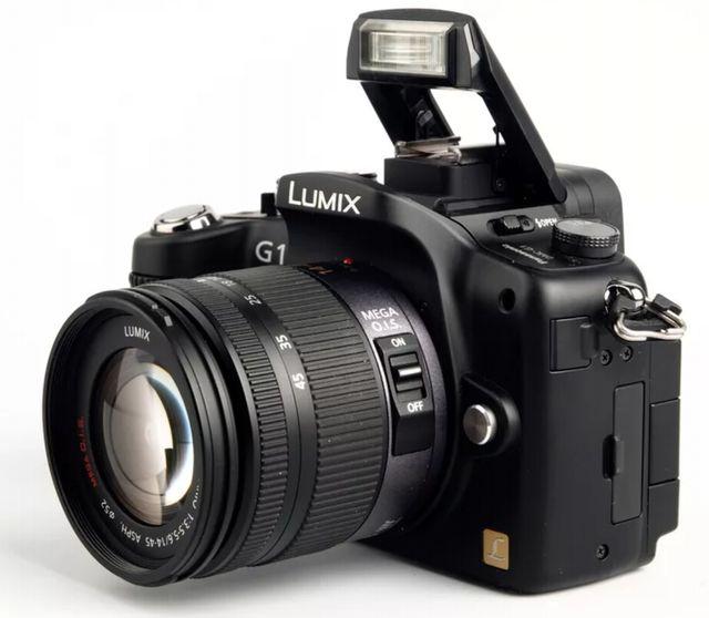 Lumix G1 от Panasonic – первый беззеркальный фотоаппарат