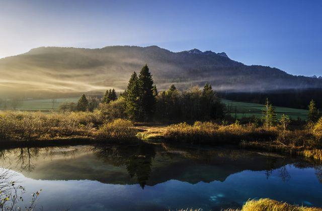 Использование отражения в пейзажной фотографии