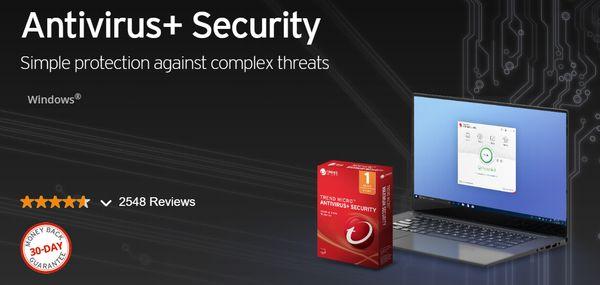 Trend Micro Antivirus + Security предлагает надежную защиту