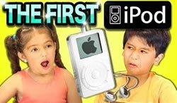 Как дети реагируют на iPod первого поколения