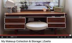 Интерактивный косметический столик Zoella