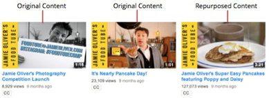 Food Tube добавляет материалы показанные на телевидении