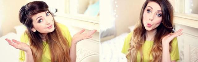 Яркие и достоверные образы красоты на канале Zoella