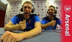 Канал «Арсенал» делает смешную озвучку футбольных моментов