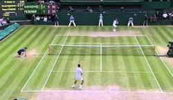Быстрый видео отчет о событиях теннисного турнира