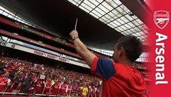 Игроки Арсенала поют клубные кричалки