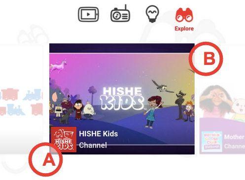 Яркие изображения для детского канала на YouTube