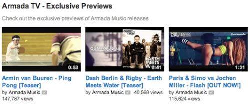 Множественные публикации A State of Trance и Armin van Buuren