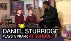 Daniel Sturridge навести родную школу