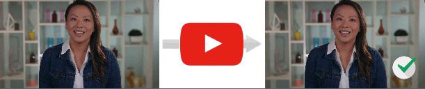 Загрузка фильма в формате плеера YouTube
