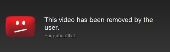 Плеер YouTube сообщает об ошибке воспроизведения видео