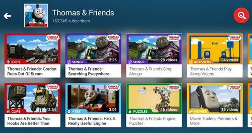 В фильмах канала Thomas & Friends появляются знакомые герои