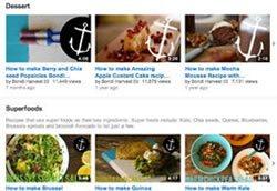 Организация страницы YouTube канала Bondi Harvest