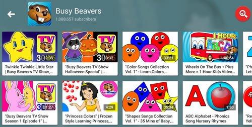 Стиль видео канала Busy Beavers очень последователен
