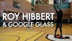 Рой Хэйберт заснял тренировку с помощью видеокамеры Google Glass